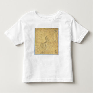Map Of The City Of Los Angeles Tee Shirts
