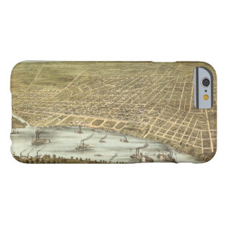 Map of the City of Memphis Tennessee (1870) Barely There iPhone 6 Case