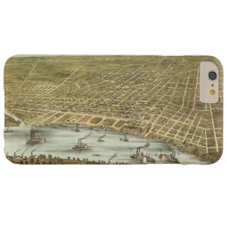 Map of the City of Memphis Tennessee (1870) Barely There iPhone 6 Plus Case