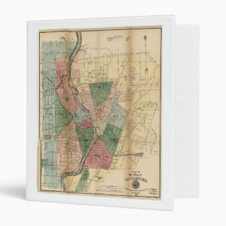 Map of the City of Rochester New York (1879) Binder