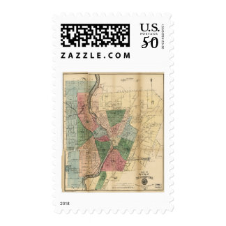 Map of the City of Rochester New York (1879) Postage