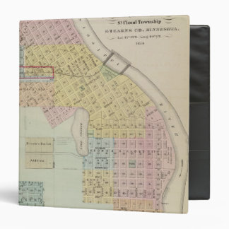 Map of the City of St. Cloud, Minnesota Binder