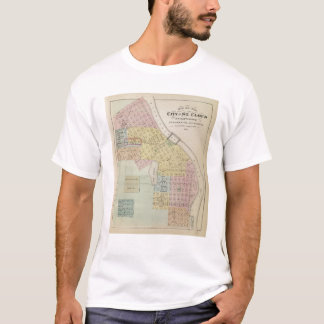 Map of the City of St. Cloud, Minnesota T-Shirt