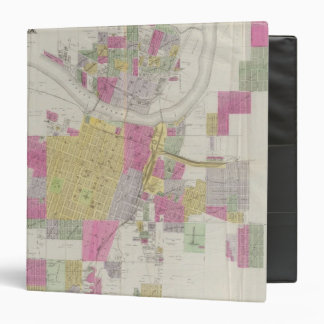 Map of the City of Topeka 3 Ring Binders