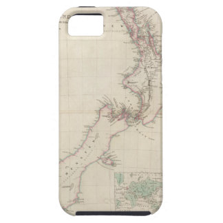 Map of the Colony of New Zealand iPhone SE/5/5s Case