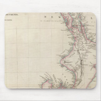 Map of the Colony of New Zealand Mouse Pad