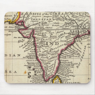 Map of the continent of the East Indies Mouse Pad