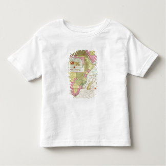 Map of the Countries of Africa T Shirt