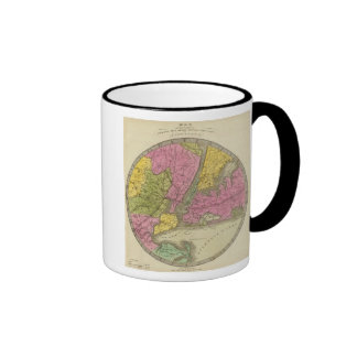 Map of the Country Mug