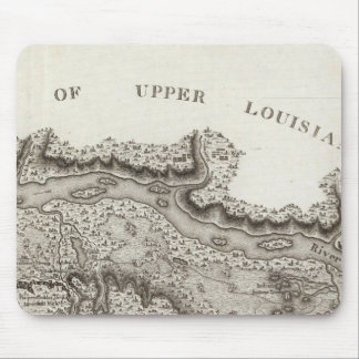 Map of the Country Of The Illinois Mouse Pad
