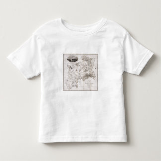 Map of the County of Middlesex, published 1819 (pr Tshirt