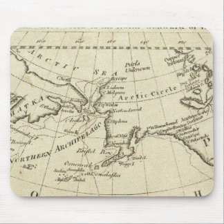 Map of the Discoveries made by Capts Cook & Clerk Mouse Pad