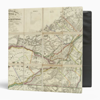 Map of the District of Montreal, Lower Canada Binder