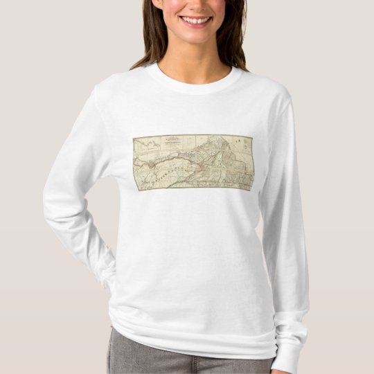 Map of the District of Montreal, Lower Canada T-Shirt