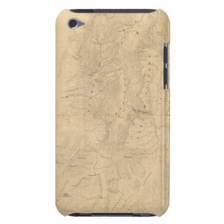 Map of the district of the High Plateaus of Utah Barely There iPod Case