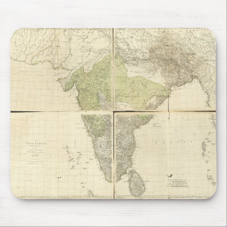 Map of the East Indies with the Roads (1768) Mouse Pad