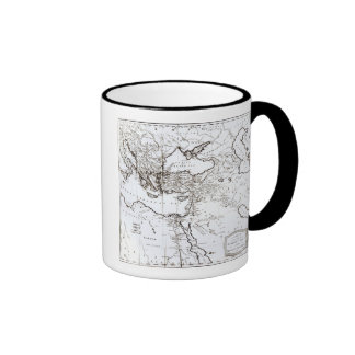 Map of the Eastern Part of the Roman Empire Coffee Mugs
