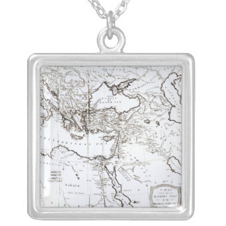 Map of the Eastern Part of the Roman Empire Pendant