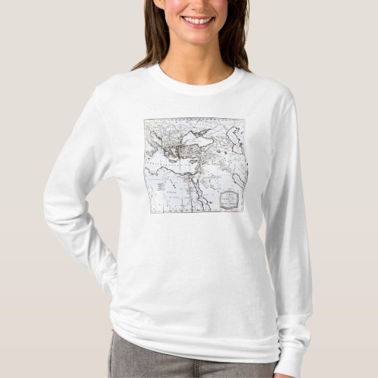 Map of the Eastern Part of the Roman Empire T-Shirt