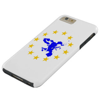 Map of the European union with star circle Tough iPhone 6 Plus Case