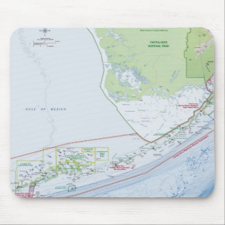 Map of the Florida Keys Mouse Pad