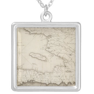 Map Of the French Part Of St Domingo Custom Jewelry