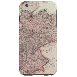 Map of the German Empire Tough iPhone 6 Plus Case