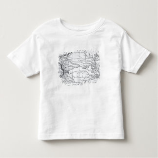 Map of the Gold Region, published in 'The Weekly' Toddler T-shirt