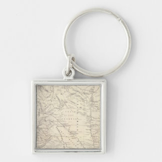 Map of the Great Chaco and neighboring regions Key Chain