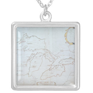 Map of the Great Lakes Necklaces