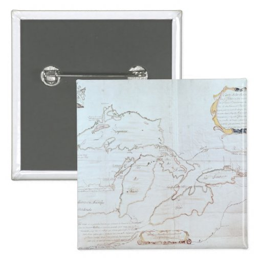 Map of the Great Lakes Pin