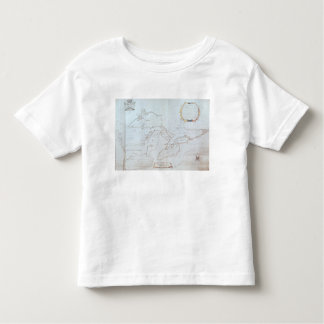 Map of the Great Lakes Shirts