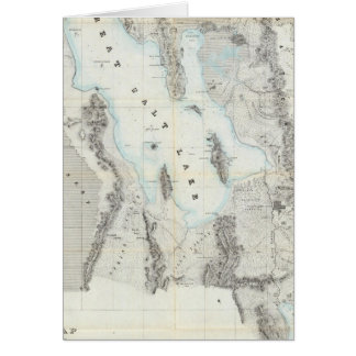 Map of the Great Salt Lake Card