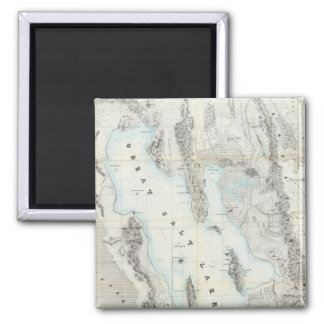 Map of the Great Salt Lake Refrigerator Magnets