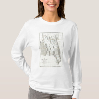 Map of the Great Salt Lake T-Shirt