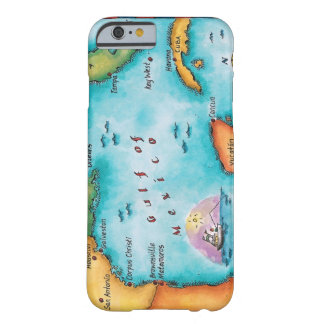 Map of the Gulf of Mexico Barely There iPhone 6 Case