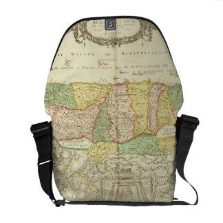 Map of the Holy Land, pub. by Jan Barend Elwe, Ams Messenger Bag