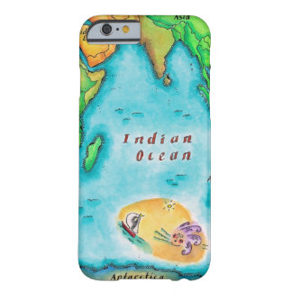 Map of the Indian Ocean Barely There iPhone 6 Case