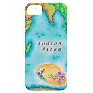 Map of the Indian Ocean iPhone SE/5/5s Case