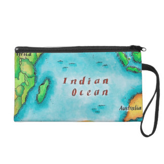 Map of the Indian Ocean Wristlet