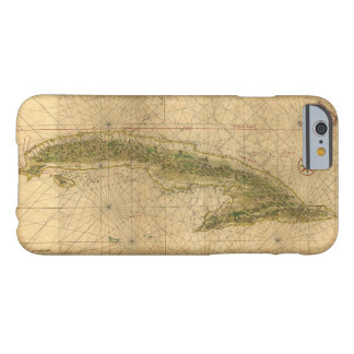 Map of the Island of Cuba by Joan Vinckeboons 1639 iPhone 6 Case