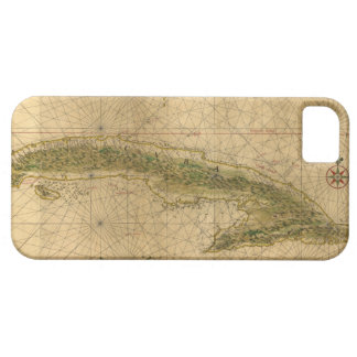 Map of the Island of Cuba by Joan Vinckeboons 1639 iPhone 5 Case