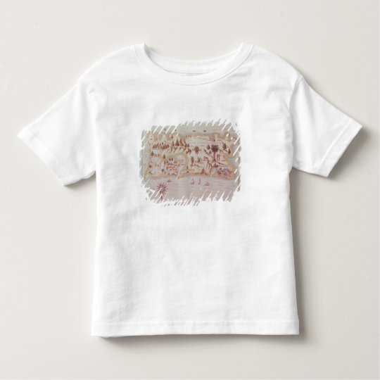 Map of the island of Puerto Rico, 1599 Toddler T-shirt