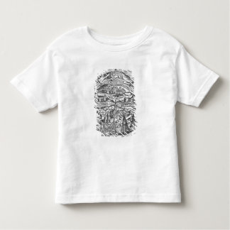 Map of the Island of Utopia, Book frontispiece Toddler T-shirt