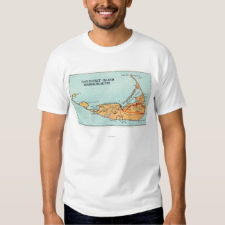 Map of the Island T-shirt