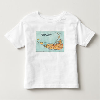 Map of the Island Toddler T-shirt