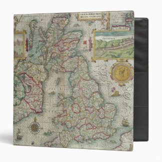 Map of the Kingdom of Great Britain and Ireland Binder