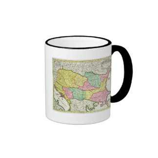 Map of the Kingdom of Hungary and the States which Mug