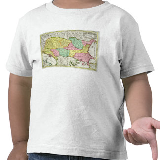 Map of the Kingdom of Hungary and the States which Shirts