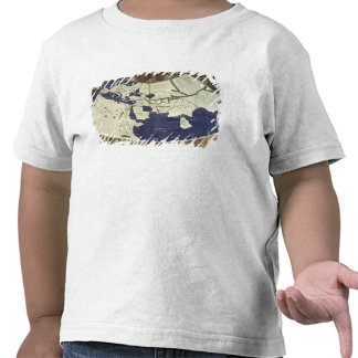 Map of the known world, from 'Geographia' T-shirts
